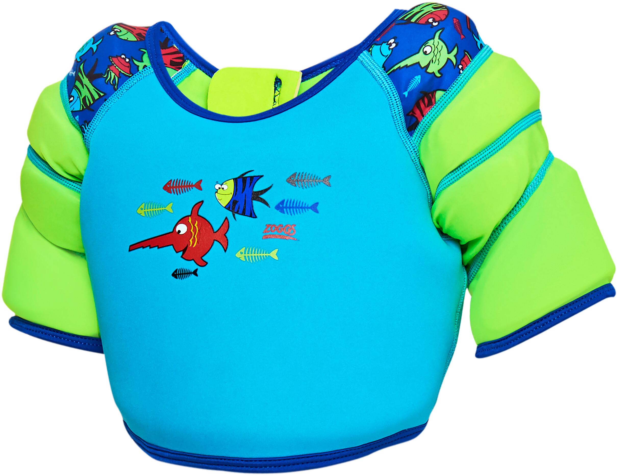 034bd1e1f Zoggs Sea Saw Water Wing Vest Kids blue